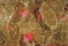 Pink Fiber Optic Quartz