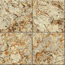 Granite tile Gold and Silver