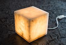 Светильники натурального камня